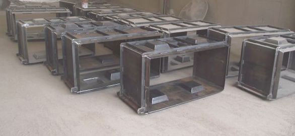 Steel Block Moulds